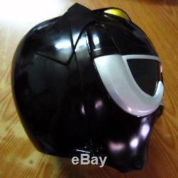 Black Power Ranger Motorcycle Helmet