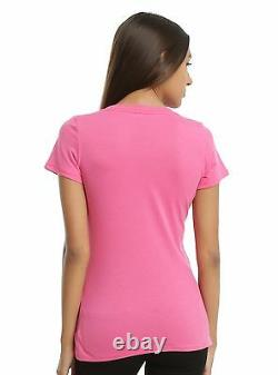 Mighty Morphin Power Rangers Pink Ranger Cosplay Girls Tee Size JRS XXL NWT
