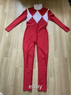 Mighty Morphin Power Rangers Power Ranger Ju Ranger Cosplay Attra Auto Suit Set