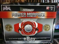 Mighty Morphin Power Rangers The Movie Legacy Red Ranger Morpher & Coins Cosplay
