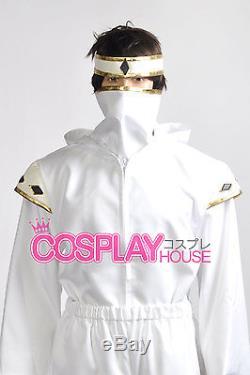 Mighty Morphin Power Rangers The Movie - White Ninjetti Ranger Cosplay Costume