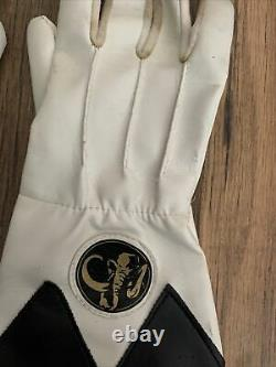 Mighty Morphin Power Rangers Vintage Gloves FX Sounds Black Ranger 1994 Cosplay