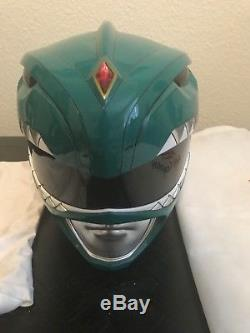 Mighty Morphin Power Rangers Wearable Cosplay Green Ranger Helmet Aniki