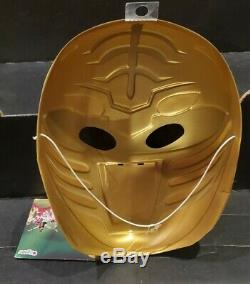 Mighty Morphin Power Rangers White Ranger Tommy Vacuform Mask Cosplay