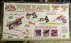 Mmpr Power Rangers Power Blaster 99% Complete With Box & Insert! Cosplay
