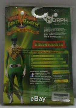 MorphSuits Power Rangers Adult M Green Halloween Cosplay ComicCon Costume Party