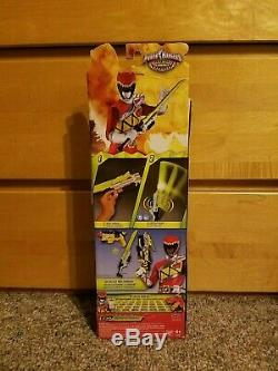 NEW Power Rangers Dino Charge Deluxe Dino Saber Cosplay Weapon Light Sword NIB