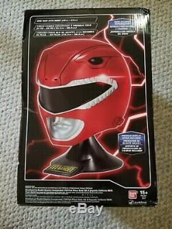 NEW Power Rangers Legacy Red Ranger Helmet 11 Full Scale Cosplay Display
