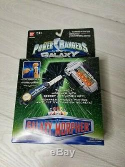 NEW Sealed in Box Power Rangers Lost Galaxy Turbo Morpher with Key Cosplay