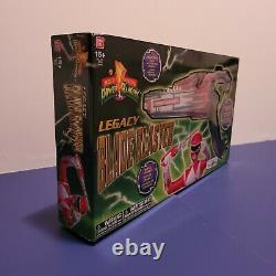 NewMighty Morphin Power Rangers Legacy Blade Blaster Collectible cosplay