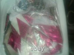 Official Licensed Power Rangers Pink Ranger Bodysuit Adult Womens Costume Size S