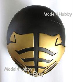 Outside Clip Cosplay Life Size Helmet Mighty Morphin Power Ranger BLACK TIGER