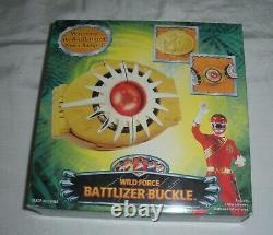 POWER RANGERS Bandai Wild Force BATTLIZER BUCKLE MORPHER 2002 COSPLAY MIB