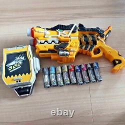 POWER RANGERS Kyoryuger Set Dx Gabu Revolver Gun Morpher Dino Charge Cosplay