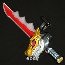 POWER RANGERS RYUSOULGER Dino Fury DX Ryusou Ken Sword + Buckle Start up Cosplay