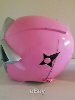 Pink Ninja Steel Powers Rangers cosplay helmet