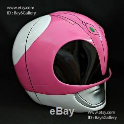 Pink Power Ranger Helmet Headwear Halloween Costume cosplay Movie Prop mask