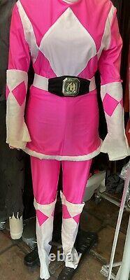 Pink power ranger costume adult
