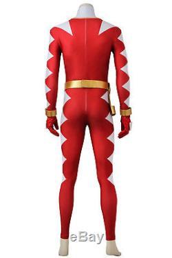 Popular Power Rangers DinoThunder Cosplay costume full suit Halloween handmake