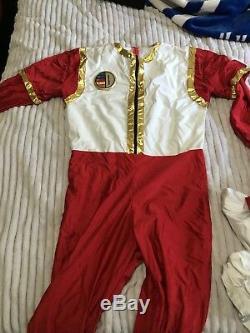 Power Ranger Dairanger Cosplay Red costume Super Sentai MMPR