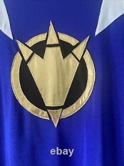 Power Ranger Dino Thunder Blue Ranger Suit Spandex Cosplay Custome Abaranger