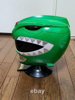 Power Ranger Dinosaur Squadron Zyuranger Dragon Ranger Cosplay Costume Used