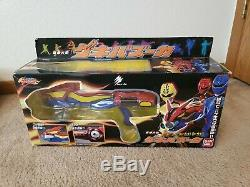 Power Ranger Sentai Gekiranger Jungle Fury Geki Blaster Bandai morpher cosplay