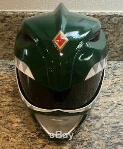 Power Ranger helmet Green ranger helmet cosplay