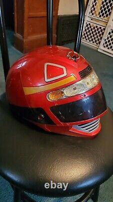 Power Ranger's Operation Overdrive Red Ranger Helmet (helmet only) Cosplay