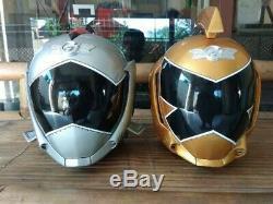 Power Rangers Aniki Cosplay RPM Go-onger Helmet Silver Ranger Super Sentai