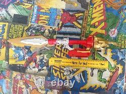 Power Rangers Bandai Megaforce Deluxe Ultra Dragon Red Spinning Sword Cosplay