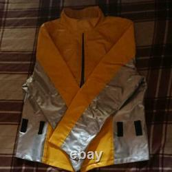 Power Rangers Beast Morphers Gobusters Yellow Cosplay Costume Japan L Size