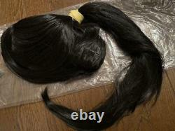 Power Rangers Beast Morphers Gobusters Yellow Cosplay Costume Wig Set Japan
