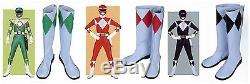 Power Rangers Black Ranger Cosplay Accessories Boots Shoes 3 colors
