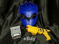 Power Rangers Blue Dino Charge Cosplay Set Morpher Comm Dino Charger Holder