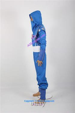 Power Rangers Blue Ninjetti Ninja Ranger Cosplay Costume blue ranger costume