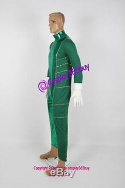Power Rangers Cosplay Super Power Beat Down Green Ranger Cosplay Costume