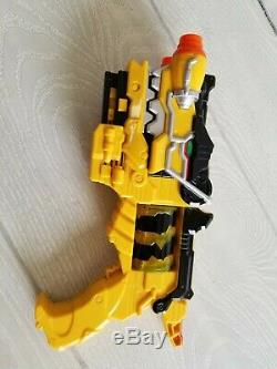 Power Rangers Deluxe Dino Charge Morpher Blaster & Red T-Rex Gun for Cosplay