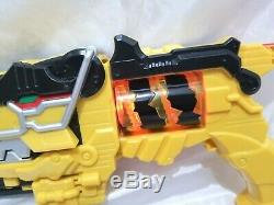 Power Rangers Deluxe Dino Charge Morpher Cosplay Gun with 2 Chargers