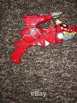 Power Rangers Deluxe Dino Charge Morpher Cosplay Red T-Rex Gun Works! T47 Red B