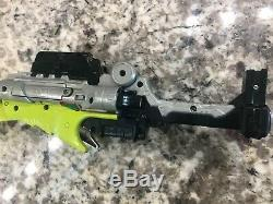 Power Rangers Deluxe Dino Charge Morpher Yellow Cosplay Gun w Green Saber Sword