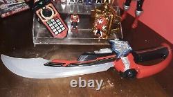 Power Rangers Deluxe Morpher 34 Keys lot super Megaforce mmpr cosplay sdcc tru