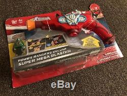 Power Rangers Deluxe Super Mega Blaster Bandai Toys Cosplay Prop Scifi Blaster