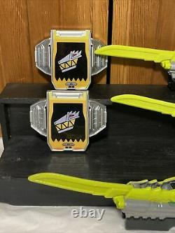 Power Rangers Dino Charge Cosplay Set Training Pieces Sabers, Gun