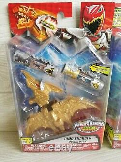 Power Rangers Dino Charge DINO CHARGER POWER PACKS for Morphers Zords Cosplay