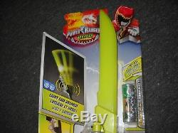 Power Rangers Dino Charge Deluxe Dino Saber New In Box Cosplay Weapon Sword