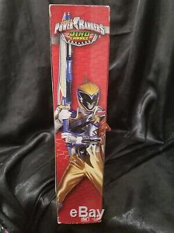 Power Rangers Dino Charge Gold Ranger Hero Set Cosplay with Dino Charger NEW