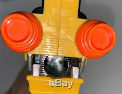Power Rangers Dino Charge Gun Blaster Yellow Tested Light Sound Costume Cosplay