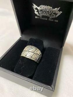 Power Rangers Dino Charge Kyoryuger Black Silver Ring Cosplay BANDAI Limited