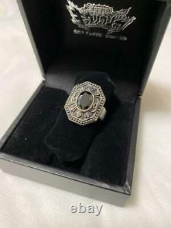 Power Rangers Dino Charge Kyoryuger Black Zircon Ring Cosplay Accessories BANDAI